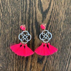 NWOT Lilly Pulitzer Tassel Earrings